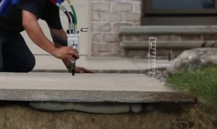 Concrete Leveling Company | Foamjection